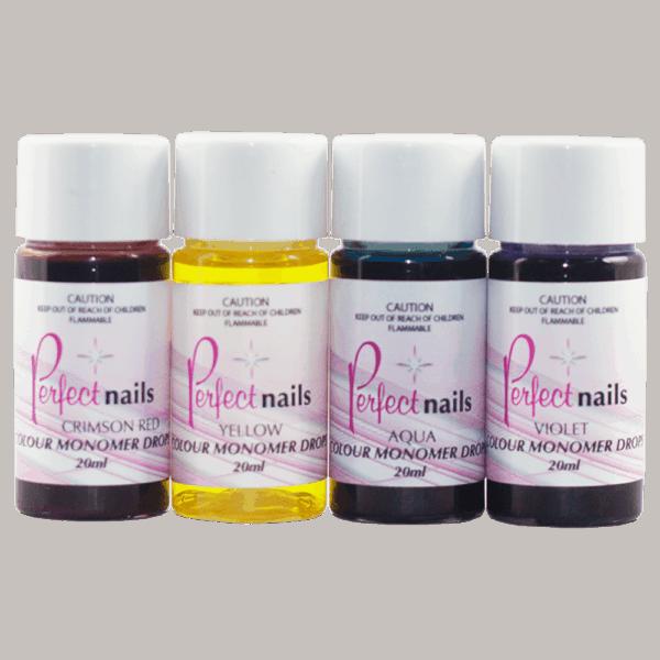Perfect Nails Coloured Monomer drops