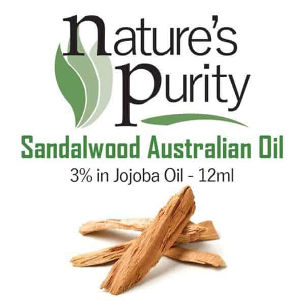 Sandalwood Australian 3% In Jojoba Oil 12ml