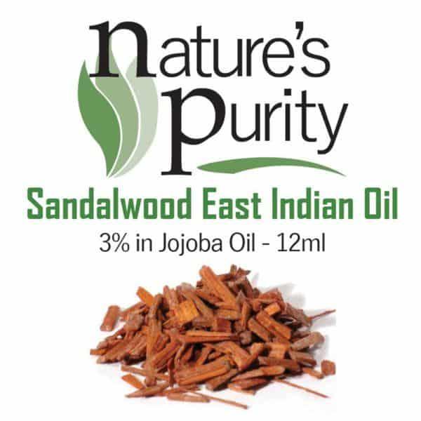 Sandalwood East Indian 3% in Jojoba 12ml