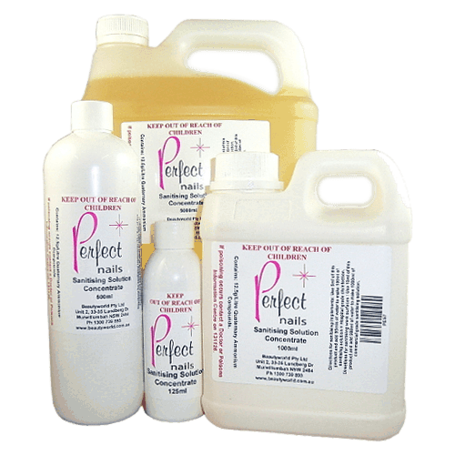 Perfect Nails Sanitising Solution Concentrate