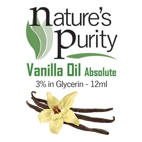 Vanilla Absolute 3% in Glycerin 12ml