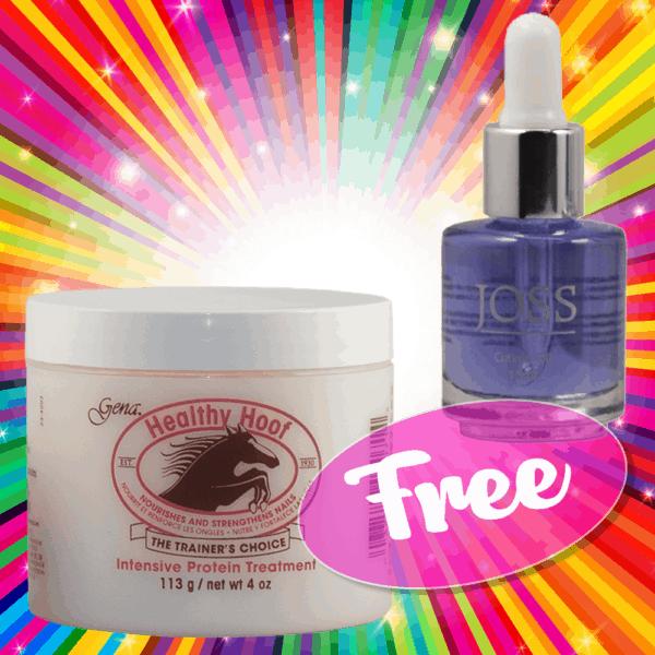 Gena Healthy Hoof – FREE Cuticle Oil