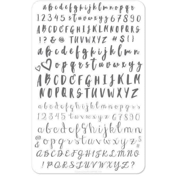 Alphabet Brush