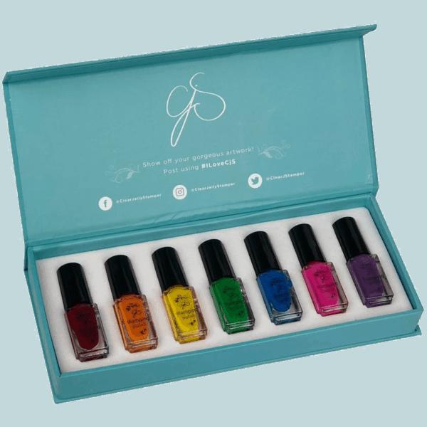 Rainbow Polish Kit