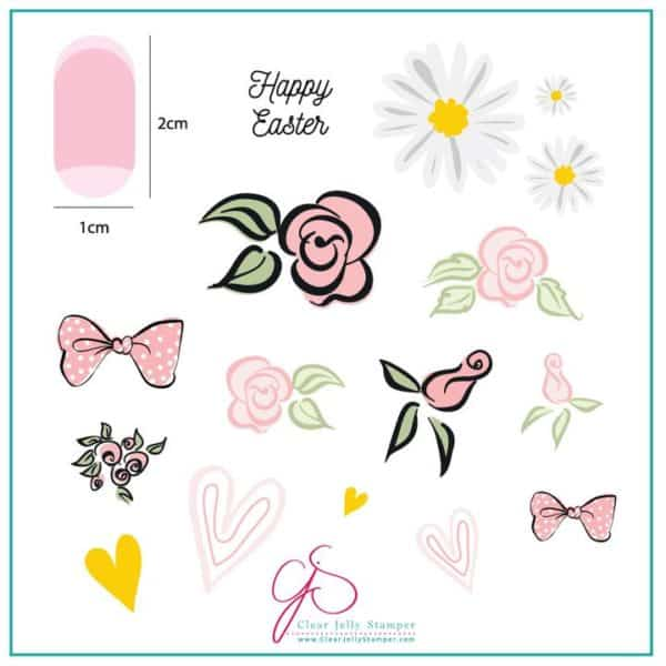 Easter Egg Dainty Decals