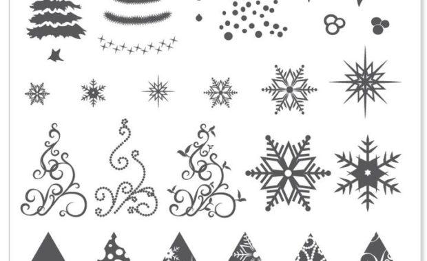 6x6 Christmas Plates 1 10