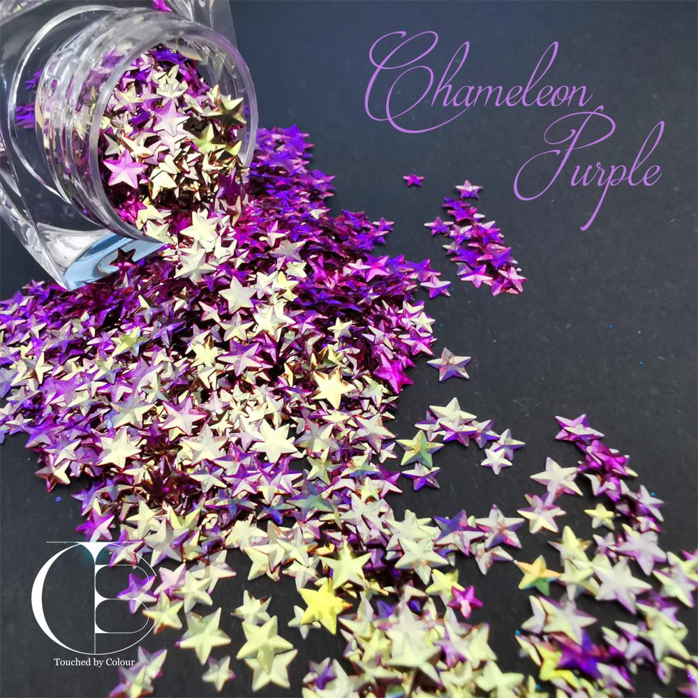 Chameleon Purple Stars