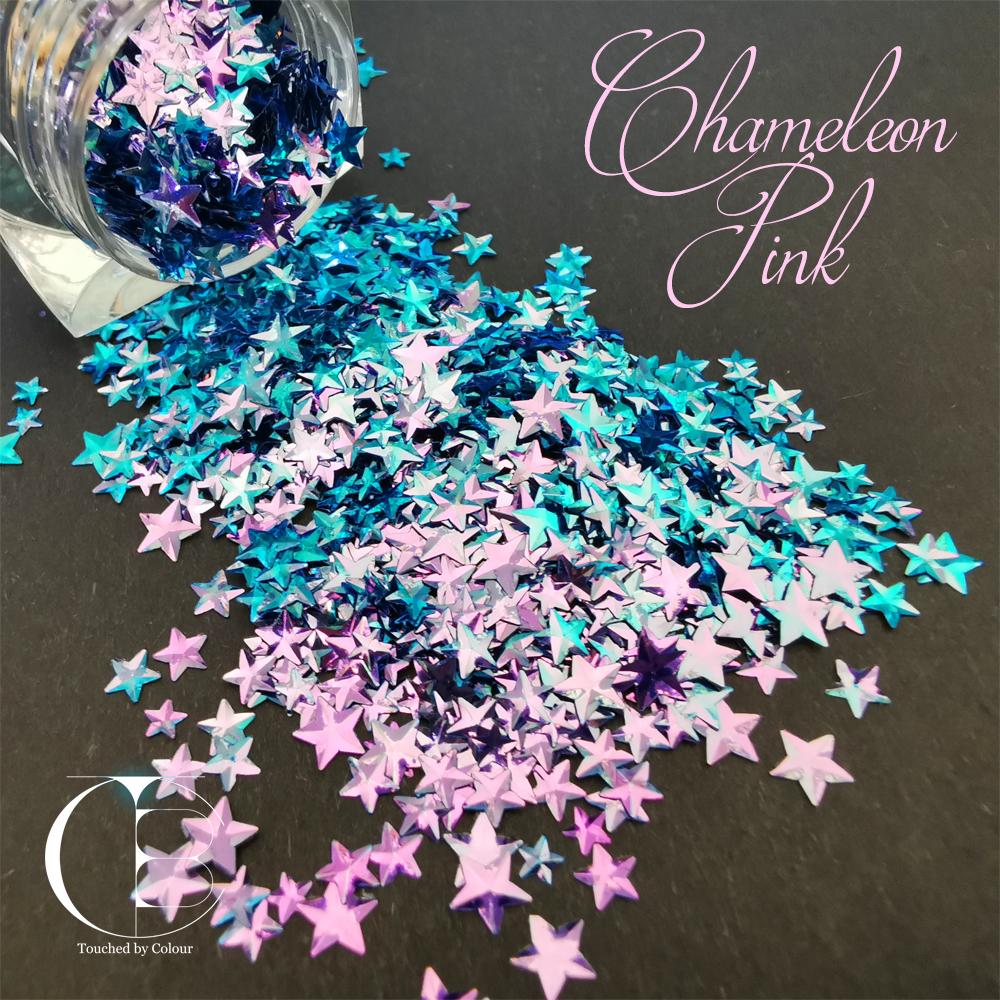 Chameleon Pink Stars