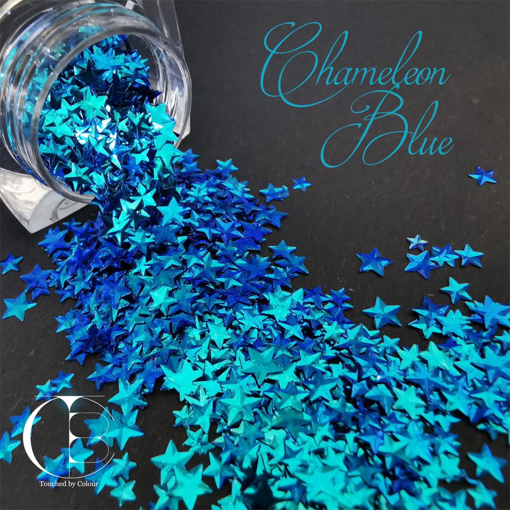 Chameleon Blue Stars