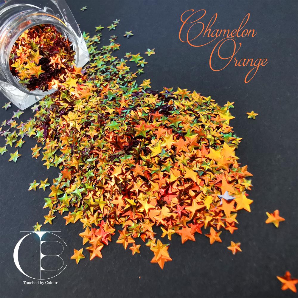 Chameleon Orange Stars