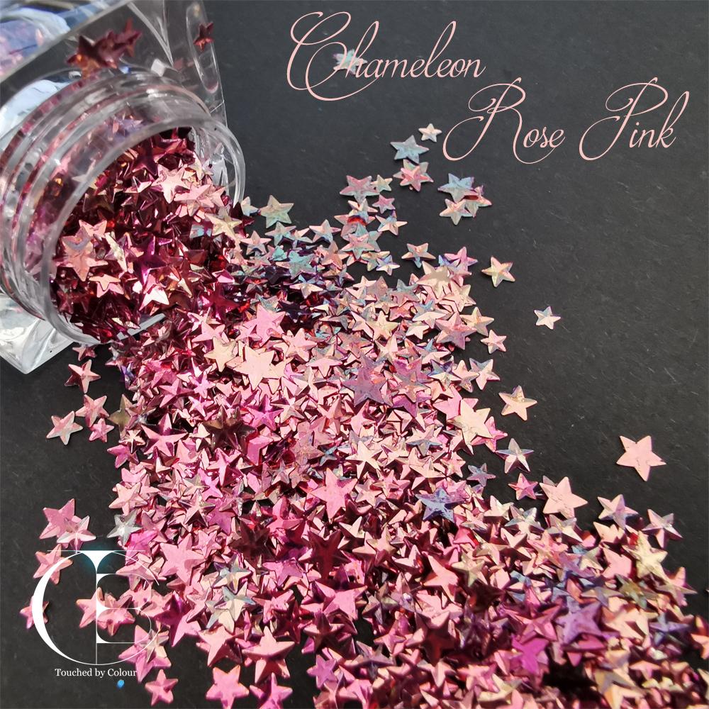Chameleon Rose Pink Stars