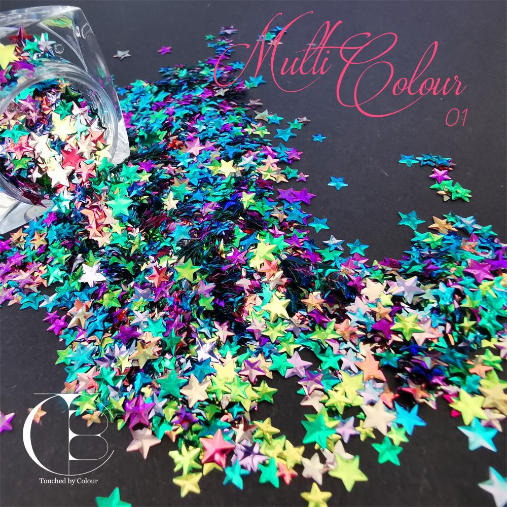 Multi Colour 01 Stars