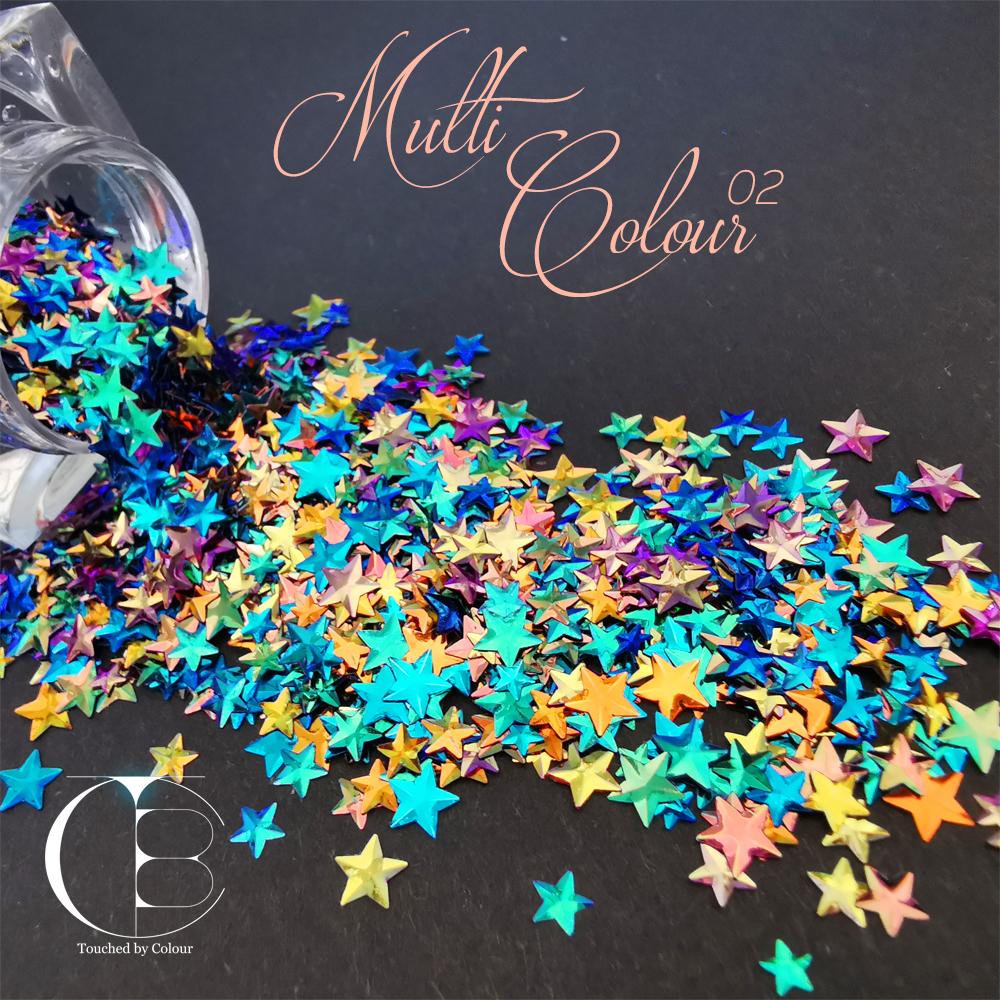 Multi Colour 02 Stars