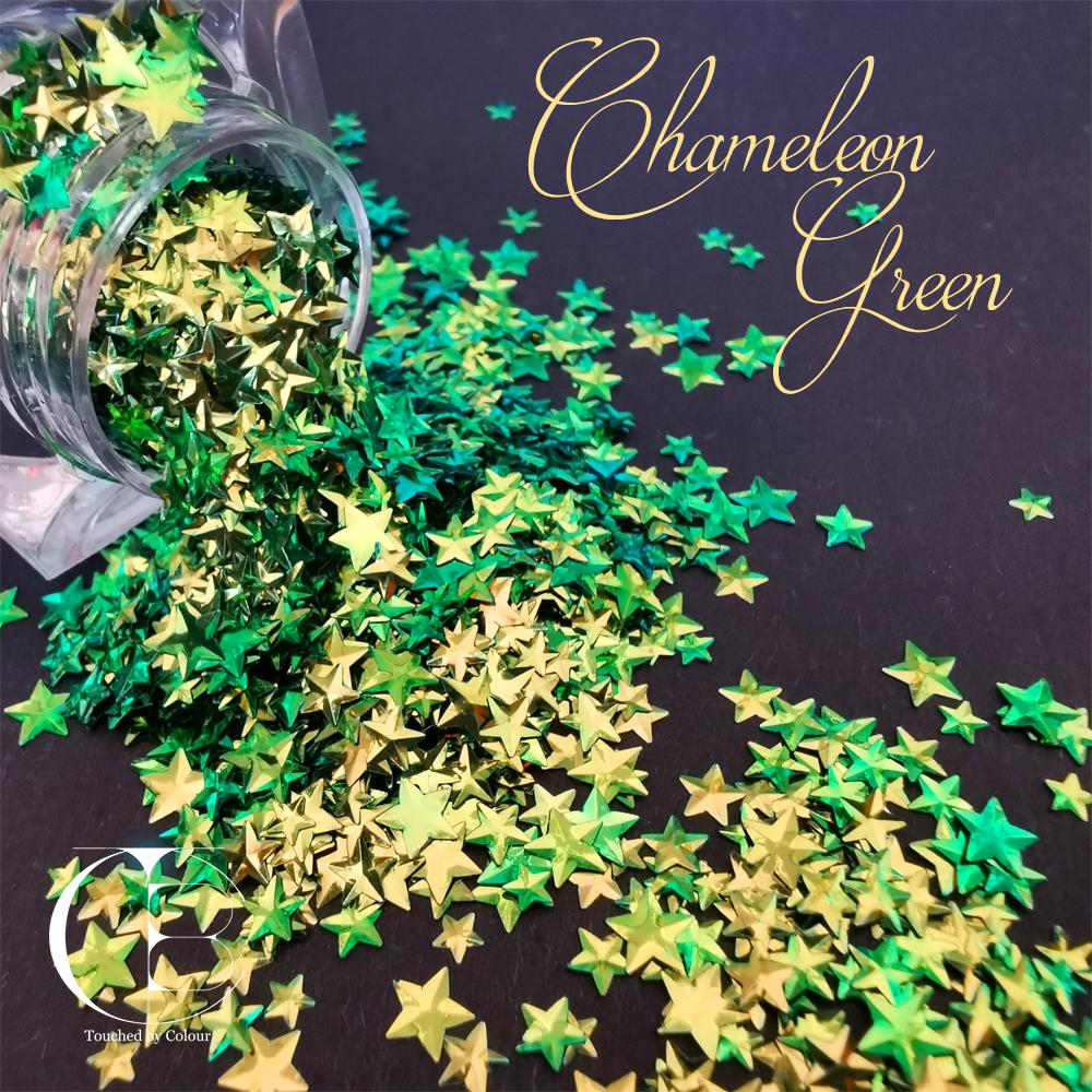 Chameleon Green Stars