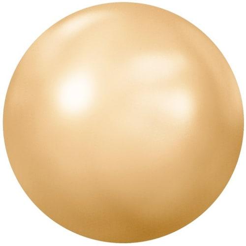 Swarovski Golden Shadow Pearl – Flat Back