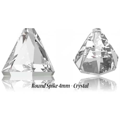 Round Spike 4mm – Crystal – Specialty