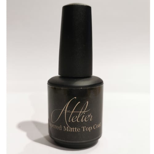 Tempered Matte Top Coat – 15ml