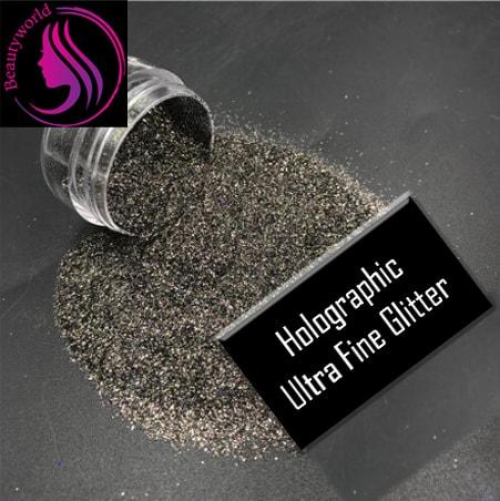 Black Glitter Ultra Fine