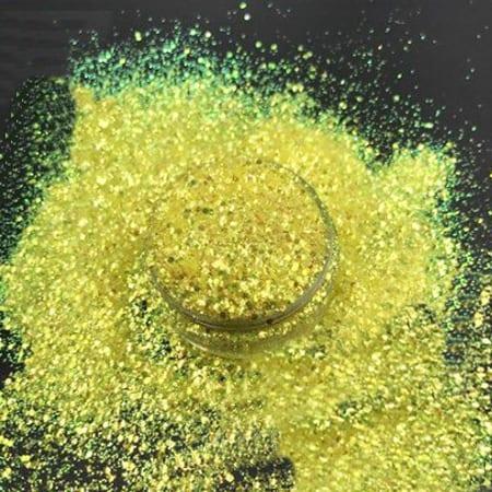 Yellow Glitter Fine
