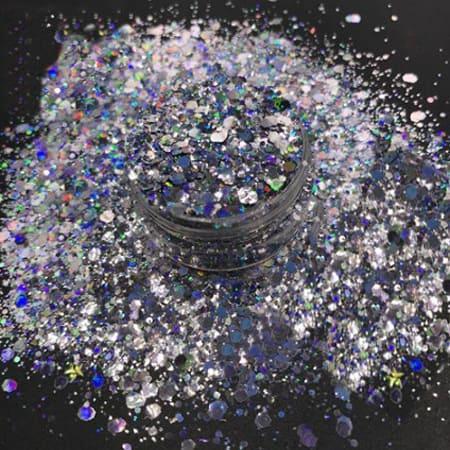 Chameleon Silver Glitter Medium