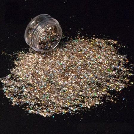 Copper Glitter Shard