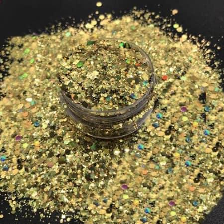 Gold Glitter Medium