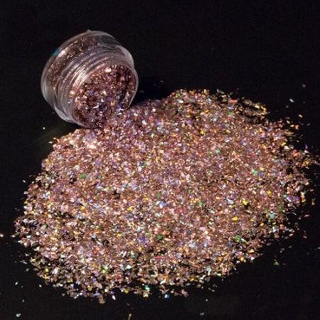 Rose Glitter Shard