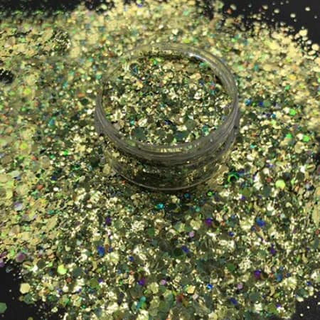 Chameleon Gold Glitter Medium