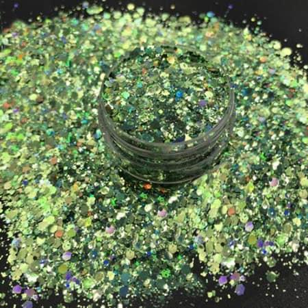 Green Glitter Medium