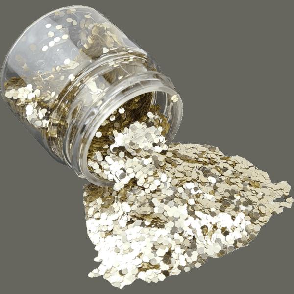 Silver Glitter Medium