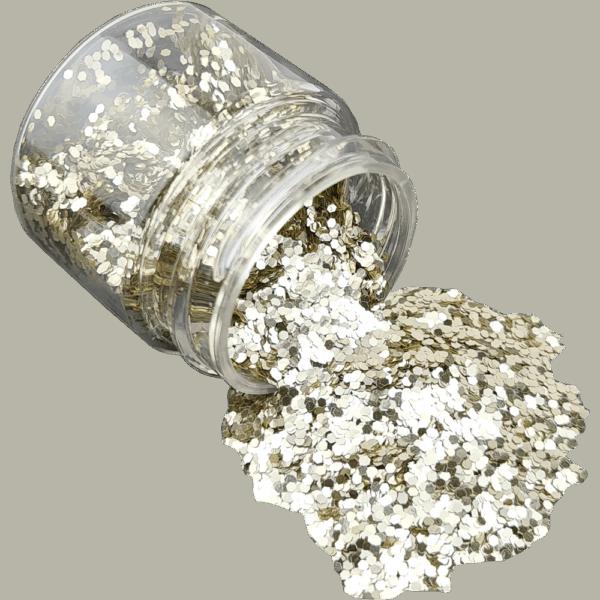Silver Glitter Fine