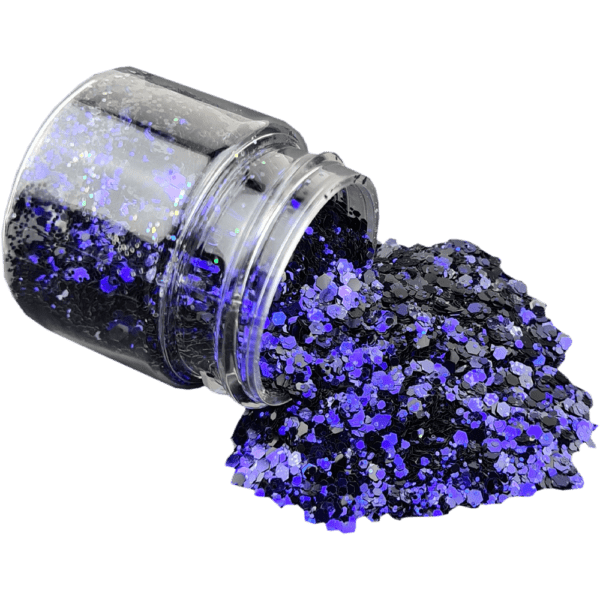 Purple Rain Glitter Large
