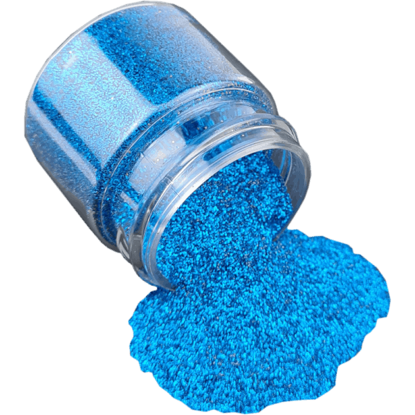 Aquamarine Dark Glitter Fine