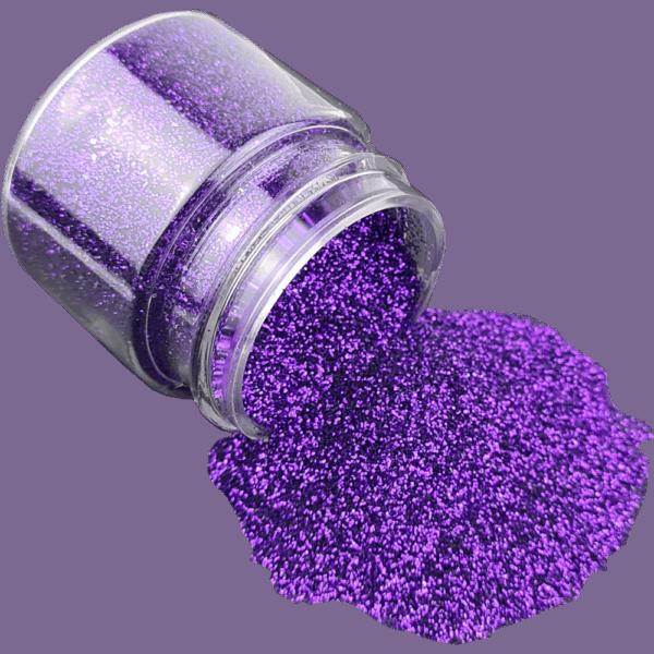 Deep Purple Glitter Fine
